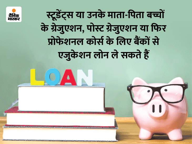 बैंक ऑफ बड़ौदा 8 और PNB 8.45% ब्याज दर पर दे रहा एजुकेशन लोन, मिलेगा 80 लाख रु. तक का कर्ज यूटिलिटी,Utility - Dainik Bhaskar