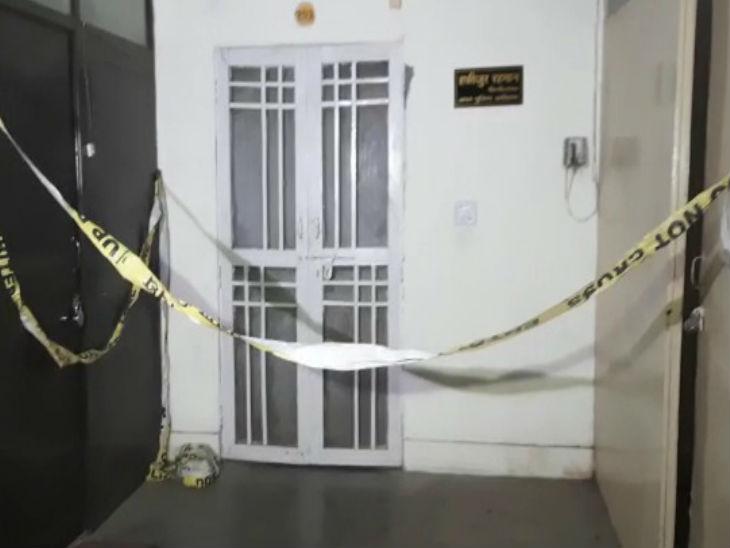 लखनऊ में सपा MLC के आवास पर गोली चलने से युवक की मौत, देर रात चल रही थी बर्थडे पार्टी|लखनऊ,Lucknow - Dainik Bhaskar