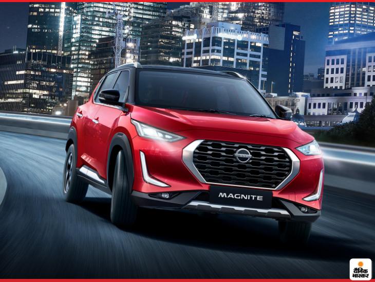 2 दिसंबर को लॉन्च होगी निसान मैग्नाइट SUV, अपने सेगमेंट में 360 डिग्री कैमरा वाली पहली कार होगी|टेक & ऑटो,Tech & Auto - Dainik Bhaskar