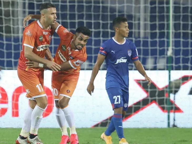 एंगुलो ने बेंगलुरु के खिलाफ गोवा को हार से बचाया, मुकाबला 2-2 से ड्रॉ|स्पोर्ट्स,Sports - Dainik Bhaskar