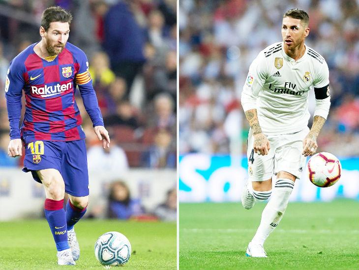 कोरोना की वजह से स्पेनिश क्लब्स को भारी नुकसान, सैलरी कैप में 52.7 अरब रु. की कटौती; बार्सिलोना को सबसे ज्यादा नुकसान स्पोर्ट्स,Sports - Dainik Bhaskar