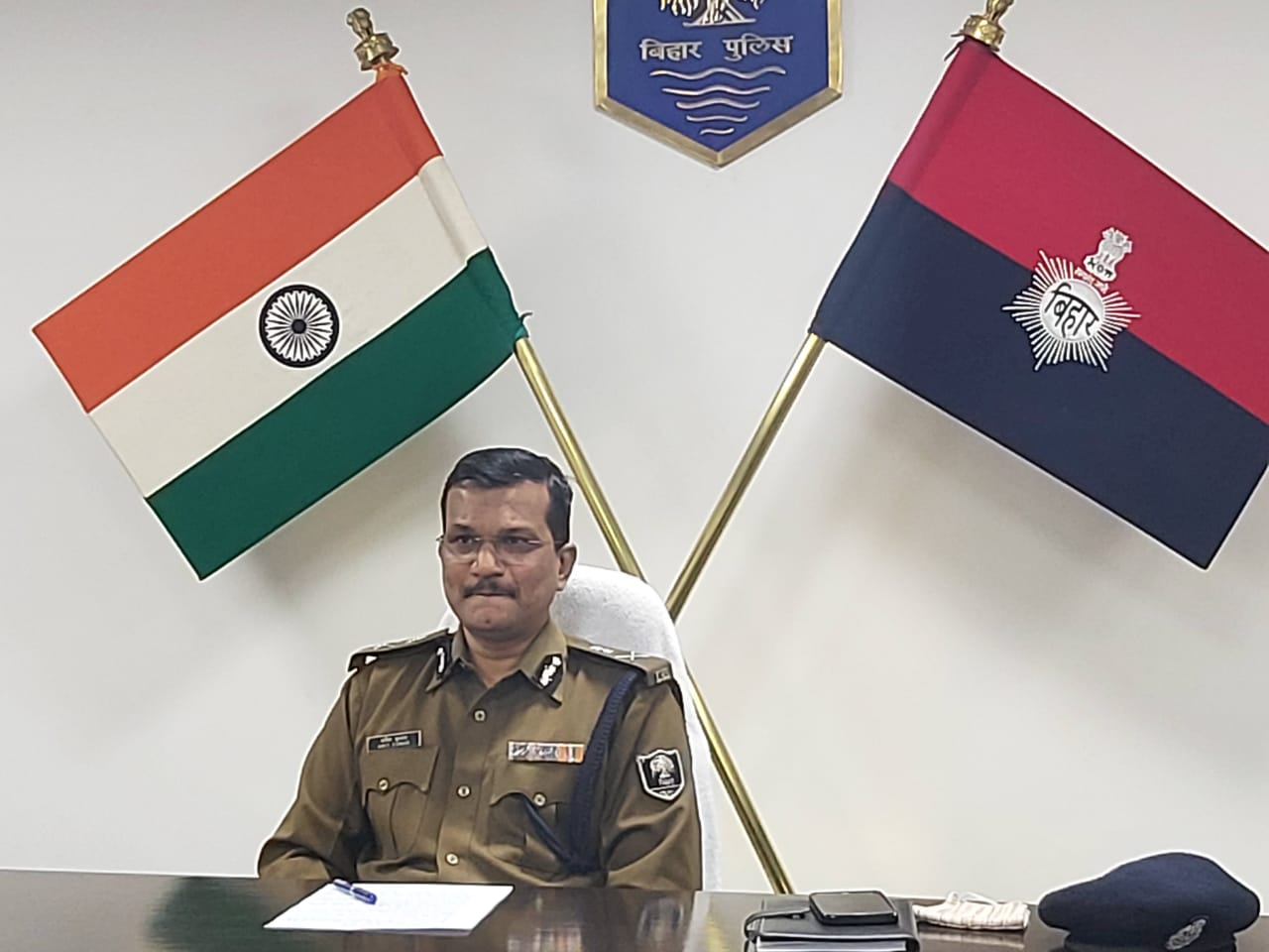 एडीजी लॉ एंड आर्डर अमित कुमार।