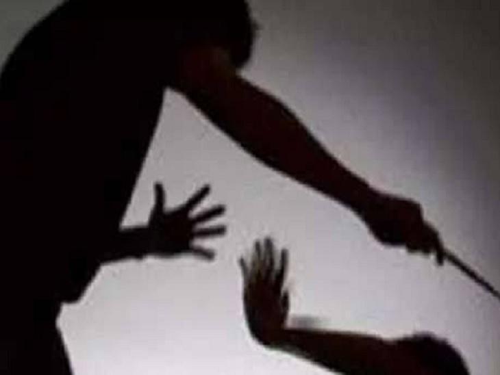 चरित्र संदेह पर पत्नी से मारपीट कर रहा था, बेटा बीच-बचाव के लिए आया तो धारदार हथियार से हमला किया|बिलासपुर,Bilaspur - Dainik Bhaskar