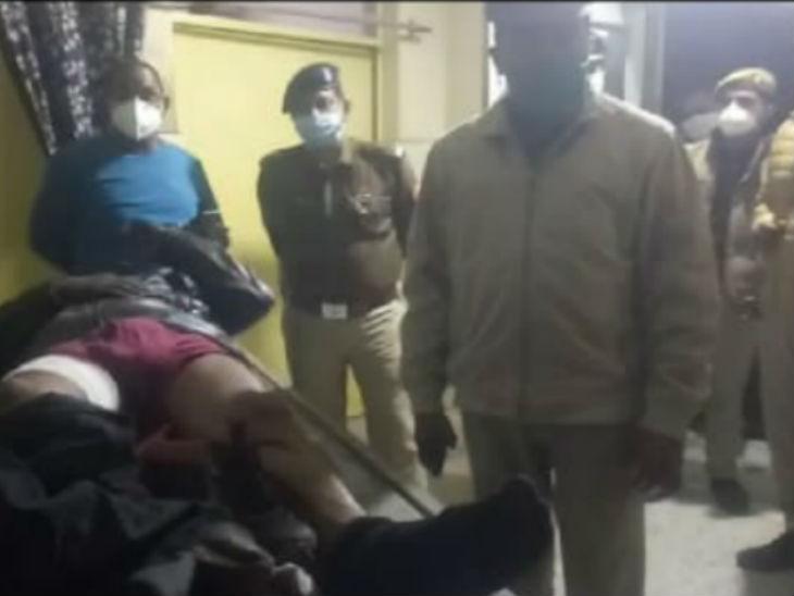 लखनऊ के शातिर बदमाश को रायबरेली पुलिस ने मुठभेड़ के बाद किया गिरफ्तार, जिले की दो लूटकांड का था आरोपी|उत्तरप्रदेश,Uttar Pradesh - Dainik Bhaskar