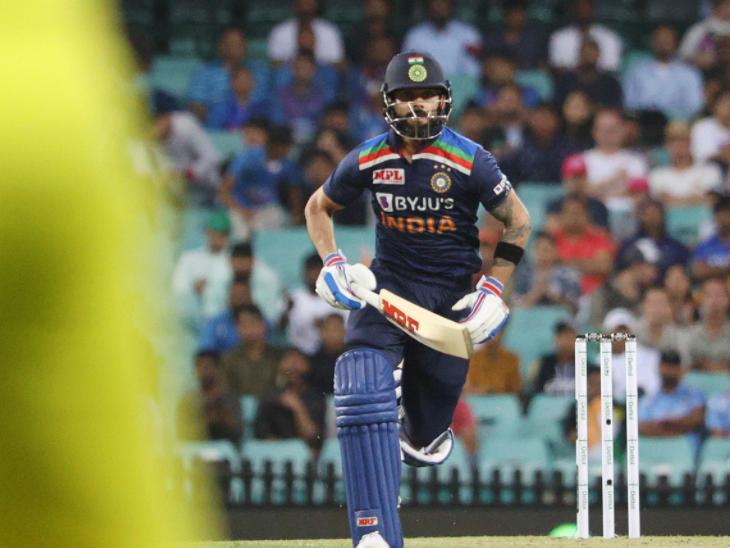 भारतीय कप्तान विराट कोहली (21) का सिडनी क्रिकेट ग्राउंड पर खराब फॉर्म इस मैच में भी बरकरार रहा।