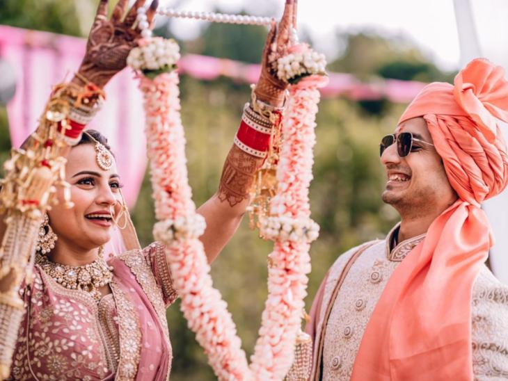 एक्टर प्रियांशु पैन्यूली ने की गर्लफ्रेंड वंदना जोशी से शादी, देहरादून में हुई वेडिंग सेरेमनी|टीवी,TV - Dainik Bhaskar