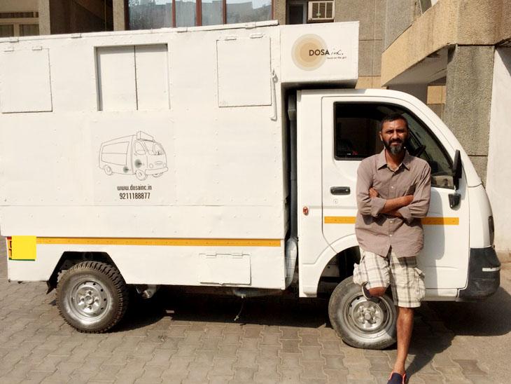 एक फूड ट्रक से शुरू हुआ सत्या का बिजनेस अब तीन फूड ट्रक तक पहुंच गया है।