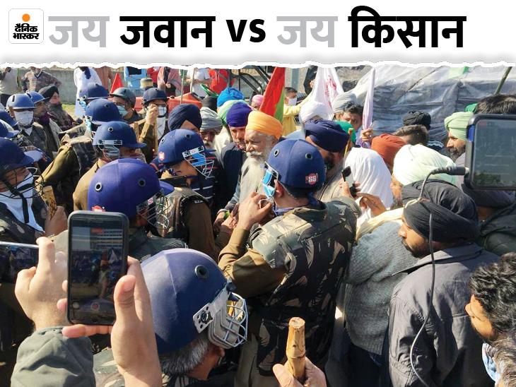 पानीपत में कोरोना और धारा 144 का हवाला देकर सिपाही ने किसानों पर केस दर्ज कराया पानीपत,Panipat - Dainik Bhaskar