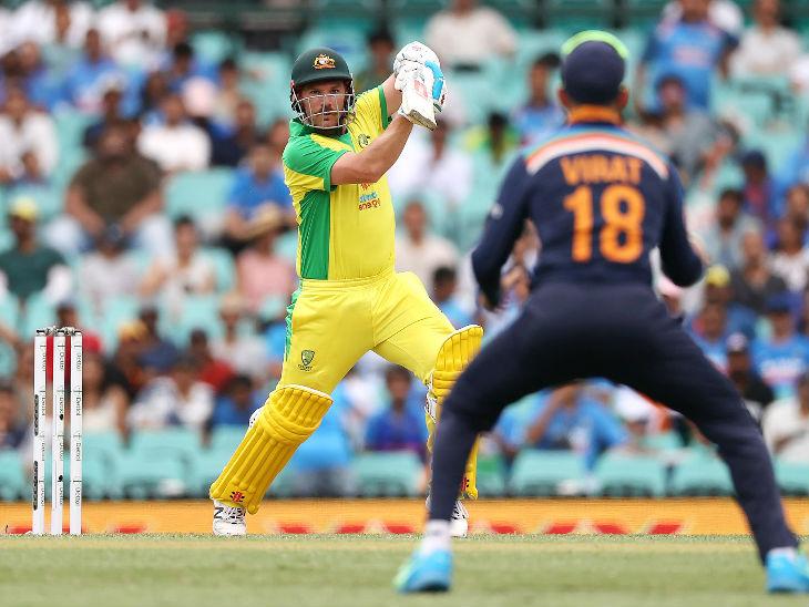 पिछले मैच में शतक लगाने वाले आस्ट्रेलियाई कप्तान एरॉन फिंच ने इस मैच में 60 रन बनाए। फिंच 28वीं फिफ्टी लगाकर मोहम्मद शमी की बॉल पर आउट हुए।