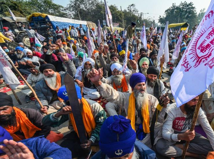 किसान आंदोलन के समर्थन में 3 दिसंबर को दो घंटे होगा चक्का जाम, जयपुर-दिल्ली हाइवे जाम करने की चेतावनी|जयपुर,Jaipur - Dainik Bhaskar