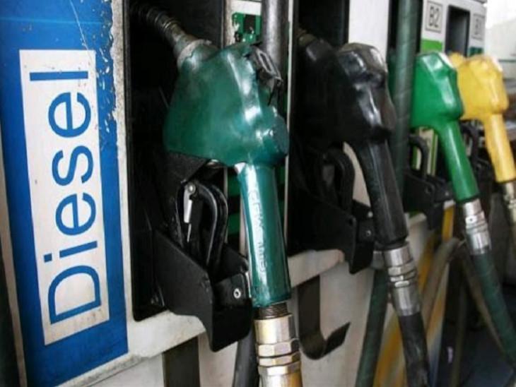 नवंबर में डीजल की बिक्री पिछले साल के मुकाबले 7% नीचे रही, जबकि पेट्रोल की बिक्री में 5% की बढ़ोतरी हुई|बिजनेस,Business - Dainik Bhaskar