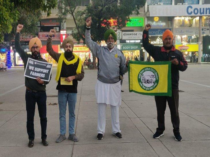 किसानों के साथ विरोध में उतरे यंगस्टर्स; कहा- पंजाब के किसान इन बिलों के विरोध में लामबंद हुए हैं तो इसका लाभ पूरे देश को मिलेगा|चंडीगढ़,Chandigarh - Dainik Bhaskar