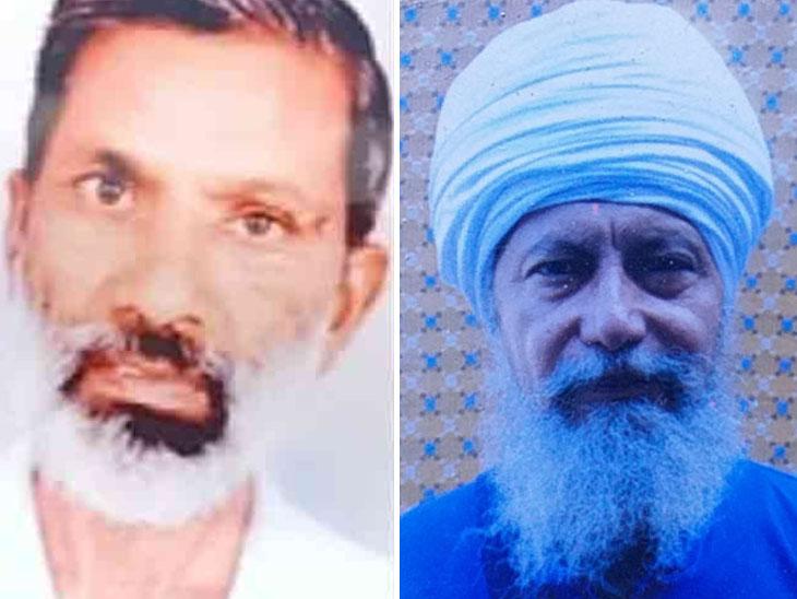 पंजाब के दो किसानों गज्जन सिंह और जनकराज की फाइल फोटो।