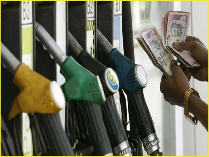 पेट्रोल की कीमतें 25 महीने के ऊपरी स्तर पर पहुंचीं, 10 दिन में 1.28 रुपए बढ़ी बिजनेस,Business - Dainik Bhaskar