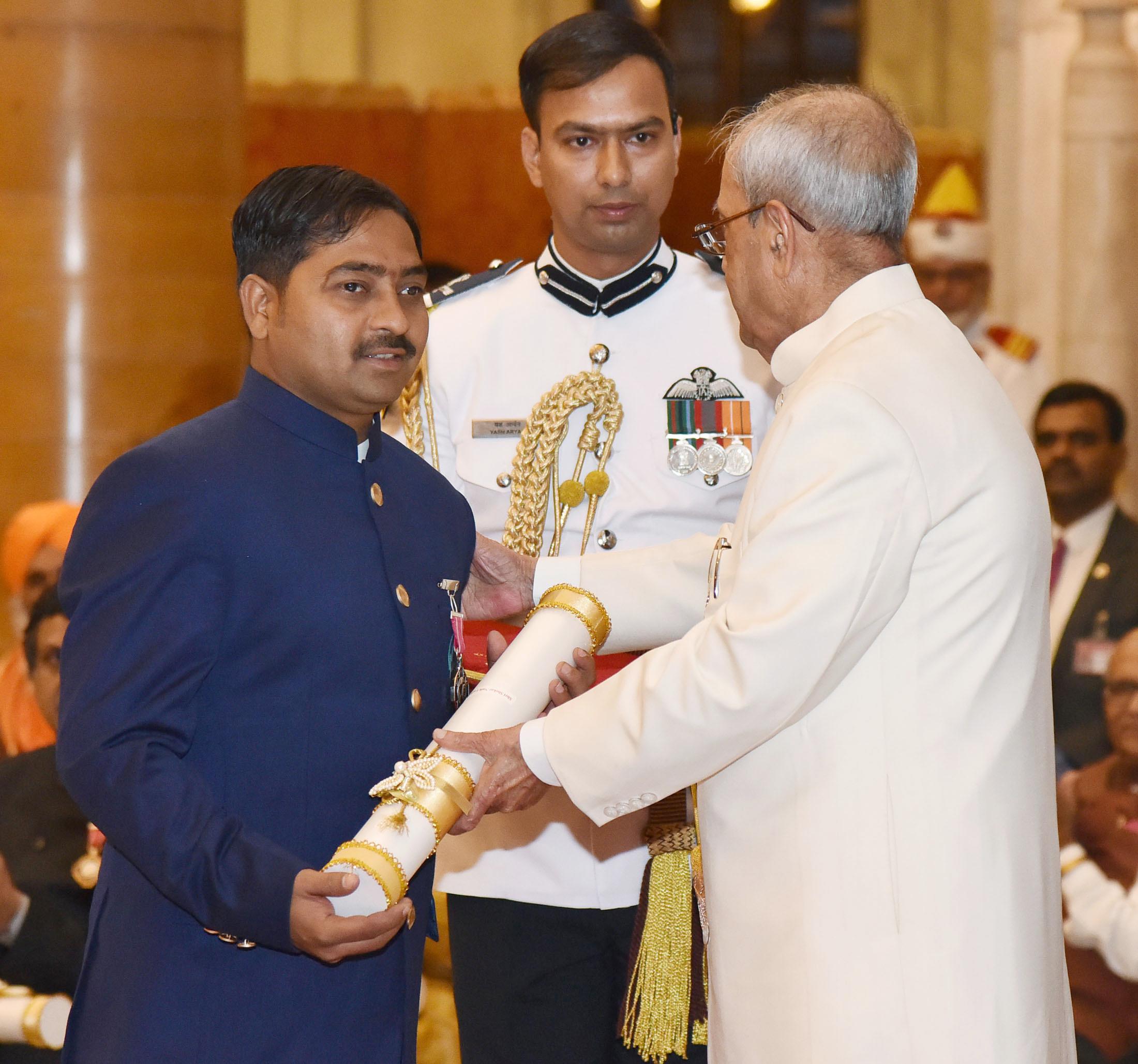 शेखर नाइक की हिम्मत ने उन्हें पद्मश्री का सम्मान दिलाया।