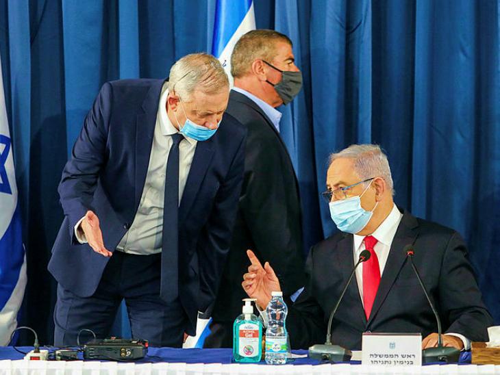 Israel Benjamin Netanyahu| Israeli Prime Minister Benjamin Netanyahu in  Trouble as rival Gantz threatens to end coalition. | नेतन्याहू के गठबंधन  सहयोगी ने कहा- PM ने लगातार वादे तोड़े, अब सरकार चलाना