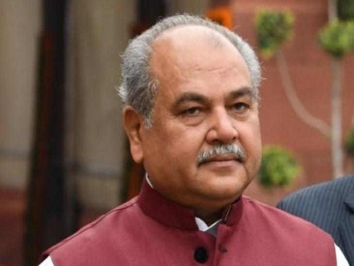 कृषि मंत्री नरेंद्र सिंह तोमर ने कहा कि नए कानूनों के पीछे सरकार की यही मंशा है कि अन्नदाताओं का शोषण बंद हो। -फाइल फोटो - Dainik Bhaskar