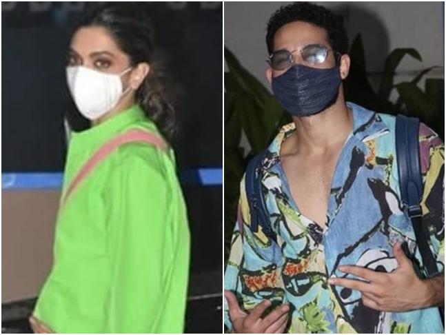 दीपिका पादुकोण और सिद्धांत चतुर्वेदी की ये तस्वीर गोवा रवाना होते हुए मुंबई एयरपोर्ट पर ली गई थी।