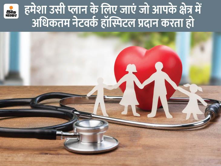 हेल्थ इंश्योरेंस पॉलिसी लेते समय बीमा कंपनी के अस्पतालों के नेटवर्क का रखें ध्यान, इससे मिलेगा सही इलाज|यूटिलिटी,Utility - Dainik Bhaskar