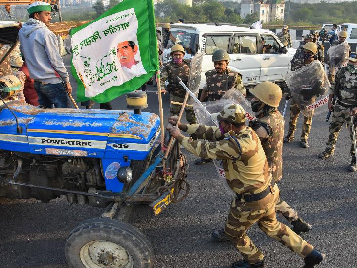 किसानों की मांग पर सरकार के नर्म रुख की वजह से आंदोलन भी शांति से चल रहा है। इस बीच कहीं-कहीं जवानों और किसानों में टकराव भी होता रहा।
