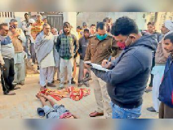 दिल्ली पुलिस में कार्यरत जवान के बेटे की हत्या, गले पर फंदे व चोट के निशान मिले रेवाड़ी,Rewari - Dainik Bhaskar
