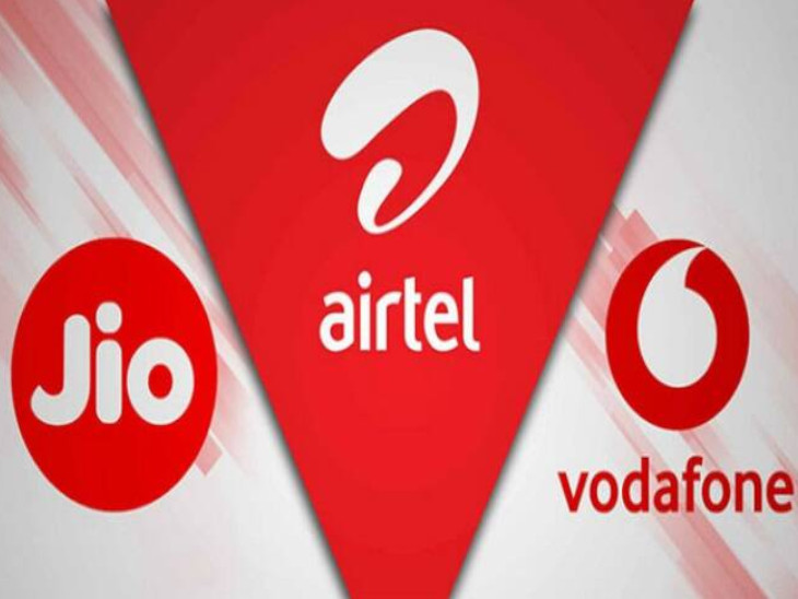 नए ग्राहक जोड़ने में रिलायंस जियो को पहली बार भारती एयरटेल ने पछाड़ा, वोडाफोन-आइडिया को सबसे ज्यादा नुकसान बिजनेस,Business - Dainik Bhaskar