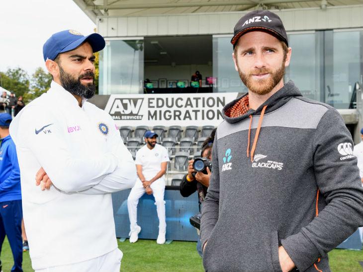 ICC टेस्ट रैंकिंग में भारतीय कप्तान विराट कोहली और न्यूजीलैंड के कप्तान केन विलियम्सन संयुक्त रूप से दूसरे पायदान पर हैं। (फाइल फोटो) - Dainik Bhaskar