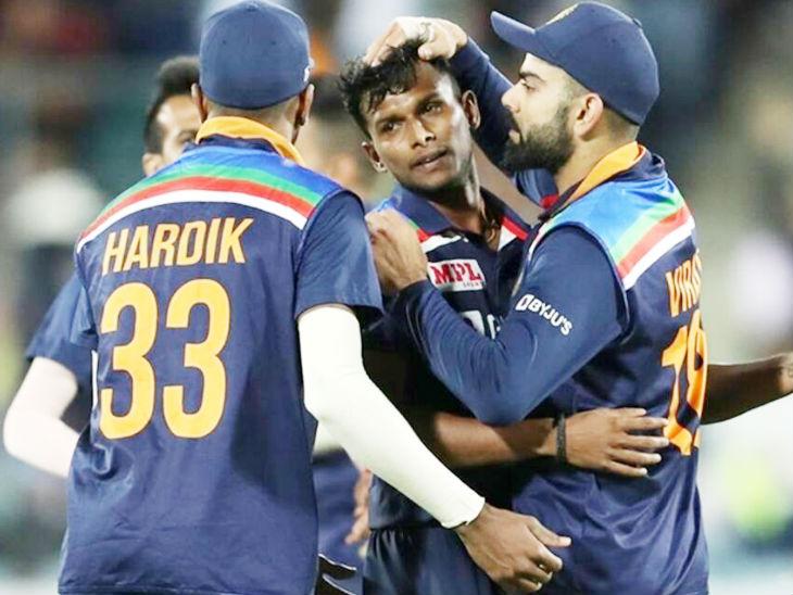 कोहली बोले- नटराजन ने बुमराह-शमी की गैरमौजूदगी में मैच जिताया, वे टी-20 वर्ल्ड कप के लिए ट्रम्प कार्ड होंगे स्पोर्ट्स,Sports - Dainik Bhaskar