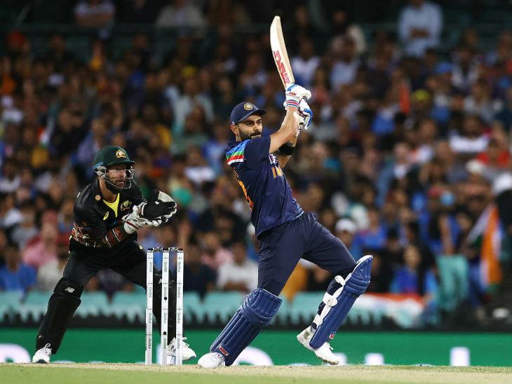 ऑस्ट्रेलिया के दिए 187 रन के टारगेट का पीछा करते हुए भारतीय कप्तान विराट कोहली ने 61 बॉल पर सबसे ज्यादा 85 रन की पारी खेली। यह उनके टी-20 करियर की 25वीं फिफ्टी रही।