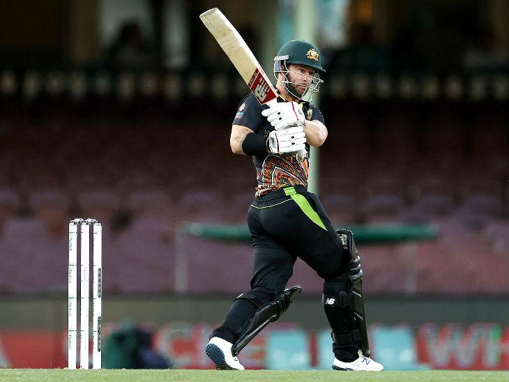 ऑस्ट्रेलियाई ओपनर मैथ्यू वेड ने 53 बॉल पर सबसे ज्यादा 80 रन की पारी खेली।
