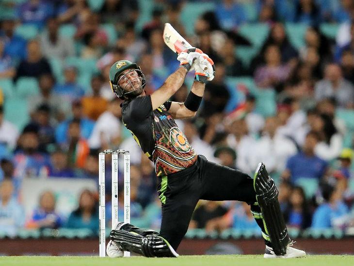 ऑस्ट्रेलियाई ऑलराउंडर ग्लेन मैक्सवेल ने 36 बॉल पर 54 रन की पारी खेली। मैच में मैक्सवेल के 2 कैच छूटे और एक बार वे कैच आउट भी हुए, लेकिन यह नो-बॉल करार दी गई थी।