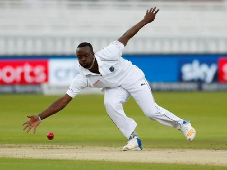 केमार रोच पिता की मौत के बाद दूसरे टेस्ट मैच में नहीं खेलेंगे। वे न्यूजीलैंड से  वेस्टइंडीज लौटेंगे। - Dainik Bhaskar