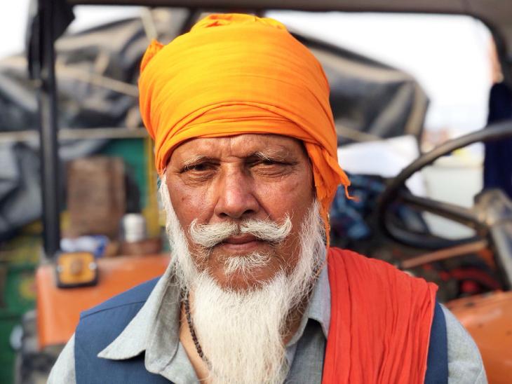 प्रदर्शन में शामिल 73 साल के बुजुर्ग बोले- जब आंदोलन ऐतिहासिक है तो नतीजा भी ऐतिहासिक होगा|DB ओरिजिनल,DB Original - Dainik Bhaskar