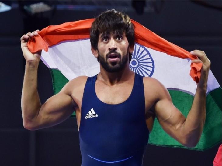 बजरंग पूनिया को पिछले साल राजीव गांधी खेल रत्न से भी सम्मानित किया जा चुका है। - Dainik Bhaskar