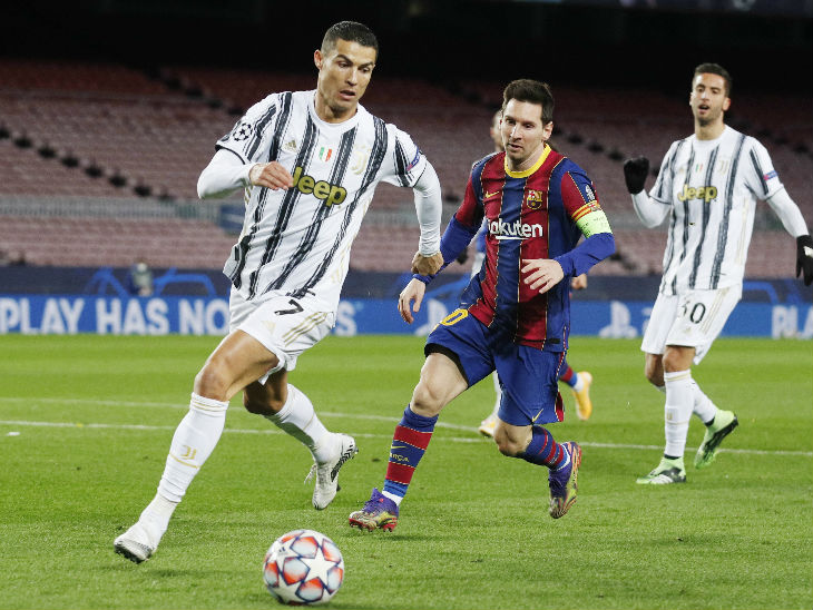 युवेंटस ने बार्सिलोना को उसके घर में 3-0 से हराया, दोनों टीम सुपर-16 के लिए क्वालिफाई स्पोर्ट्स,Sports - Dainik Bhaskar