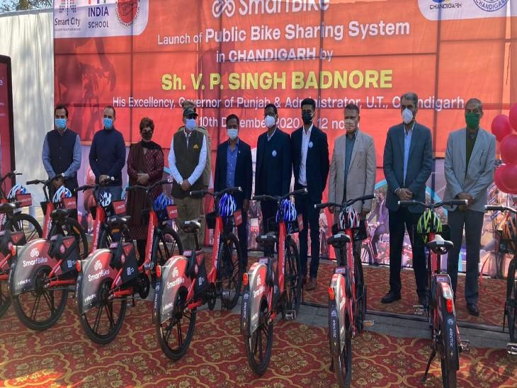 225 साइकिलों में 135 ई बाई साइकिल और 90 साइकिल हैं। यानि 60 फीसदी ई बाई साइकिल और 40 फीसदी साइकिल।