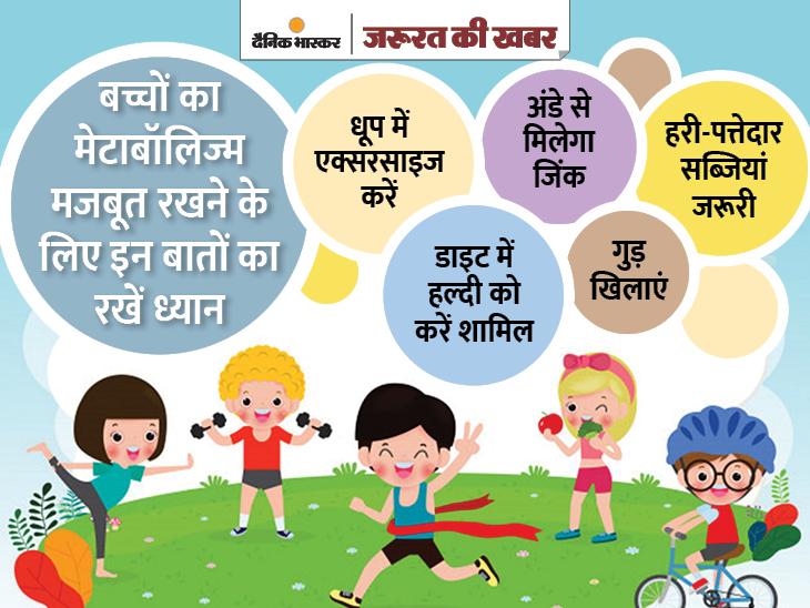 स्लो मेटाबॉलिज्म बीमारी की वजह बन सकता है, जानिए इसे मजबूत करने के तरीके|ज़रुरत की खबर,Zaroorat ki Khabar - Dainik Bhaskar