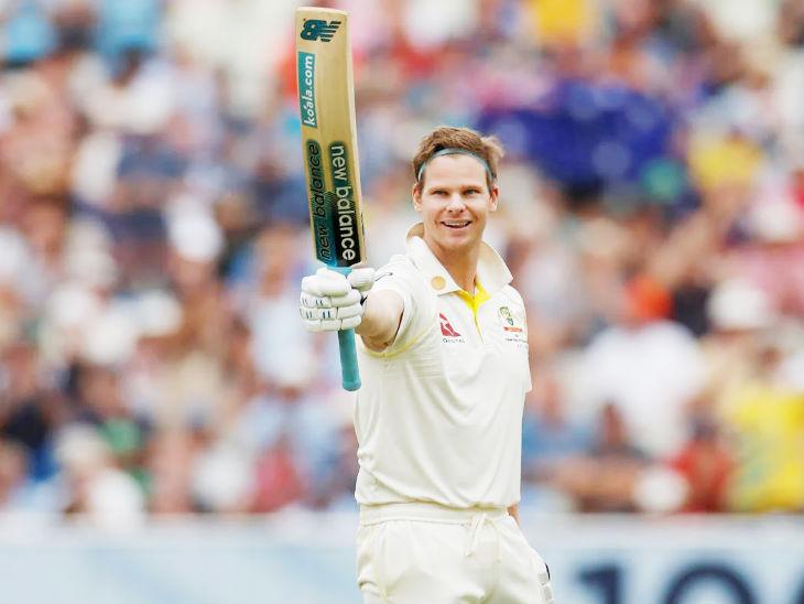 स्टीव स्मिथ ने अब तक 73 टेस्ट मैच में 62.84 की औसत से 7227 रन बनाए हैं। इस दौरान उन्होंने 26 सेंचुरी, 3 डबल सेंचुरी और 29 फिफ्टी लगाई हैं। (फाइल फोटो) - Dainik Bhaskar