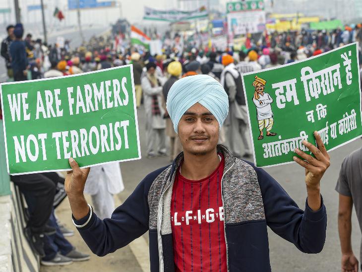 भाजपा का दावा है कि कानूनों को लेकर विपक्ष ने किसानों को गुमराह किया है। - Dainik Bhaskar