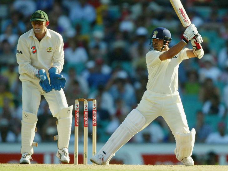 2004 के ऑस्ट्रेलिया दौरे के शुरुआती तीन टेस्ट में सचिन ने 88 रन बनाए थे। वे 3 पारी में दहाई का आंकड़ा भी नहीं छू सके थे, जबकि दो बार वे बिना खाता खोले पवेलियन लौटे थे। -फाइल फोटो - Dainik Bhaskar