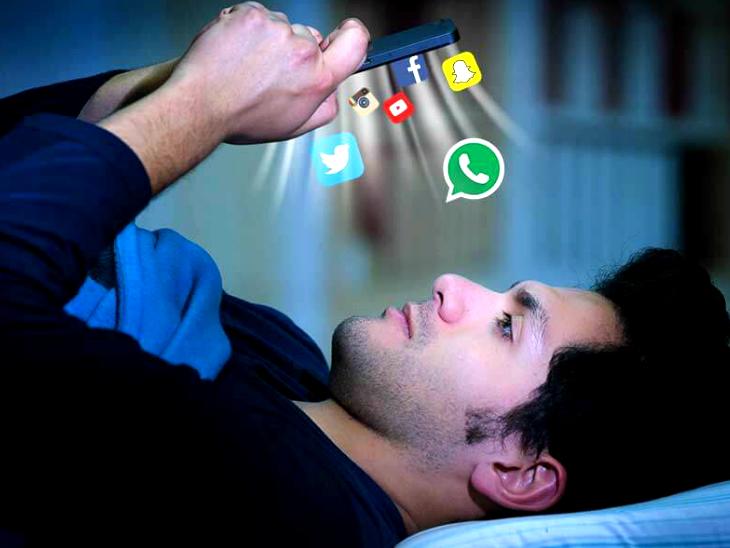 पलकें 70% कम झपकती हैं, तनाव और बेचैनी बढ़ जाती है; इससे बचने के ये चार तरीके याद रखें|लाइफ & साइंस,Happy Life - Dainik Bhaskar