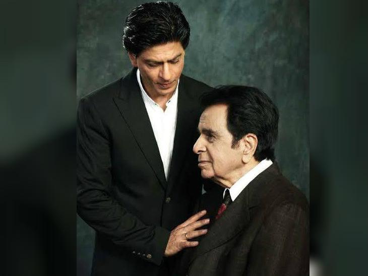 शाहरुख-रितेश ने थ्रो-बैक फोटो शेयर कर दी दिलीप कुमार को जन्मदिन की बधाई, लिखा-आपने हमेशा मुझे अपने की तरह ही प्यार दिया|बॉलीवुड,Bollywood - Dainik Bhaskar