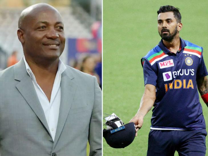 वेस्टइंडीज के लीजेंड ब्रायन लारा ने कहा- लोकेश राहुल को खेलते देखने के लिए खर्चा भी कर सकता हूं। -फाइल फोटो - Dainik Bhaskar