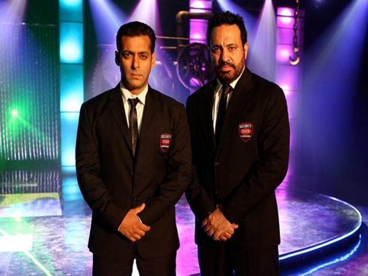 Photo of Salman and Shera during the film 'Bodyguard' (File photo)