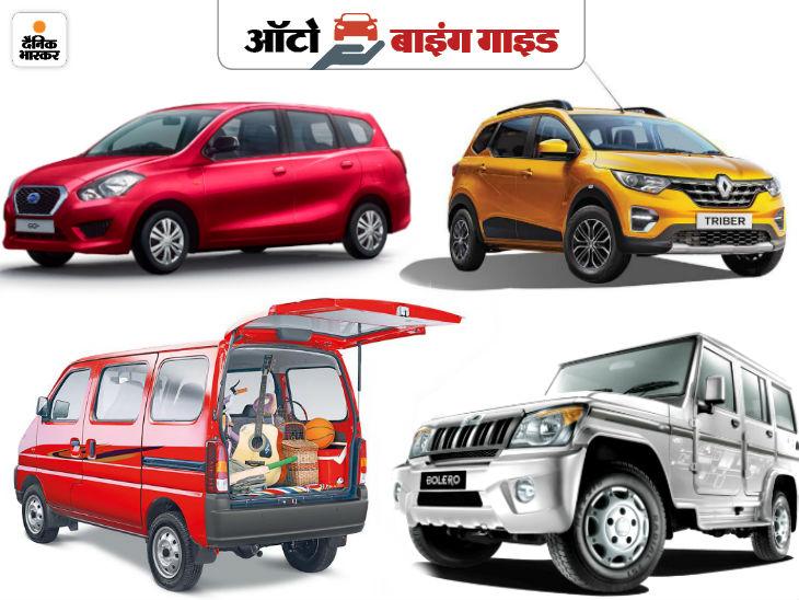 भारतीय बाजार में उपलब्ध हैं ये 5 सबसे सस्ती 7 सीटर कारें, लिस्ट में देखें आपके बजट में कौन सी बेहतर