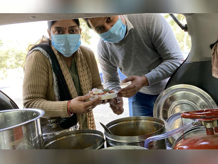 करण और उनकी पत्नी अमृता मिलकर खाना तैयार करते हैं। दोनों का इरादा जल्द ही रेस्त्रां खोलने का है।