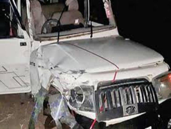 two boys killed in road accident in kinnaur of himachal pradesh | किन्नौर  में बलेरो कैंपर गाड़ी दुर्घटनाग्रस्त; 2 युवकों की मौके पर मौत, 3 गंभीर रूप  से घायल - Dainik Bhaskar