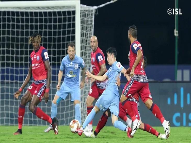 मुंबई सिटीFC का सीजन का पहला ड्रॉ; जमशेदपुर FC पॉइंट टेबल में छठे स्थान पर पहुंची स्पोर्ट्स,Sports - Dainik Bhaskar