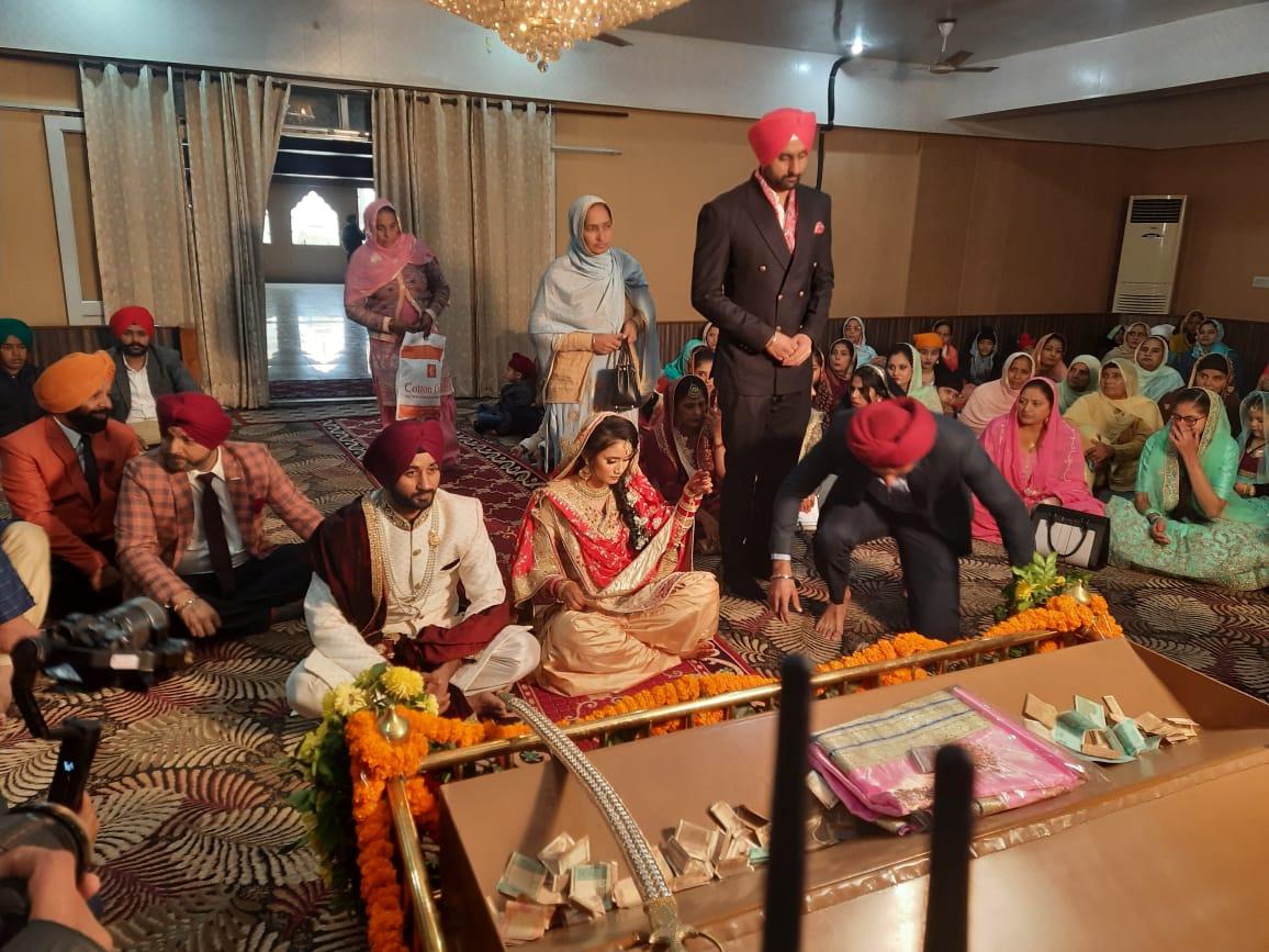 विवाह का बंधन: इंडियन हॉकी टीम के कप्तान मनप्रीत की शादी, जालंधर में मलेशिया की इली सादिक संग लिए फेरे