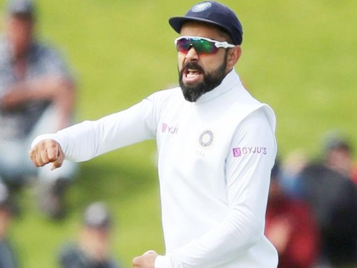 कोहली पहले टेस्ट के बाद पैटरनिटी लीव पर चले जाएंगे। उनके बाद रहाणे टीम की कमान संभालेंगे। (फाइल फोटो) - Dainik Bhaskar